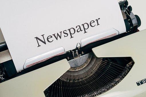 News Page, News, Newspaper, Press, Information, Task