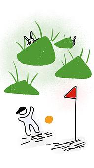 Kid, Playing, Playing A Ball, Kicking A Ball, Grass