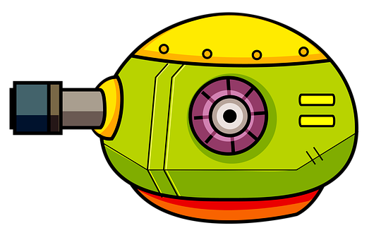 Tank, Military, Cartoon, Armored, Rocket, Battle, Gun