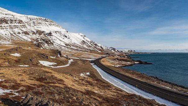 Iceland, Sea, Ocean, Nature, Water, Sky