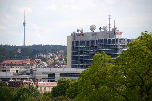 Swr, Südwestrundfunk, Stuttgart, Public Law, Building