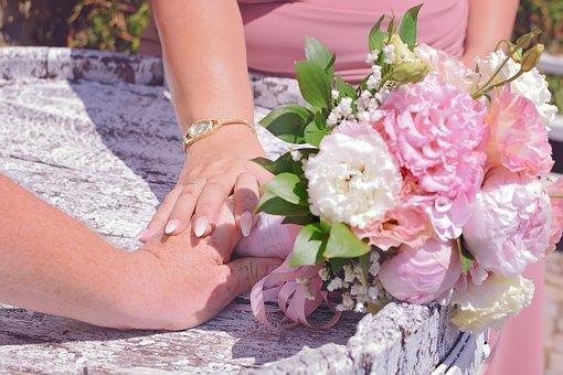 Hands, Love, Tenderness, Eternity, Faith, Wedding Day