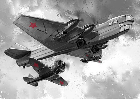 Victory Day, War Plane, Plane Victory, The Carrier