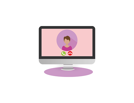 Video Conference, Woman, Video Call, Webinar
