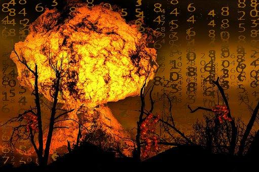 Bomb, Explosion, Boom, Fire, Explode, Destruction, War