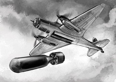 Victory Day, War Plane, Plane Victory, Bomber, Flight