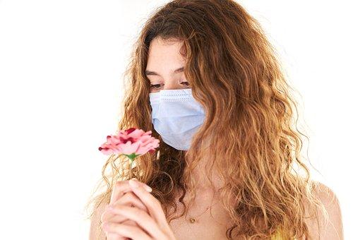 Coronavirus, Mask, Woman, Portrait, Girl, Beautiful
