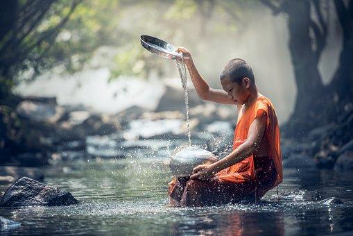 พระ, Ancient, Meditation, Architecture, Asia