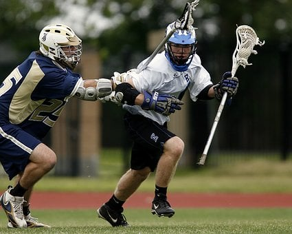 Lacrosse, Action, Competition, Player, Athlete, Stick