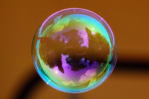 Soap Bubble, Colorful, Ball, Soapy Water