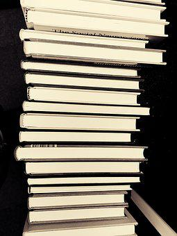 Books, Pile Of Books, Stack, Library, Pile, Literature
