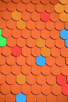 Roof, Brick, Colorful, Red, Roofing, Home, Architecture