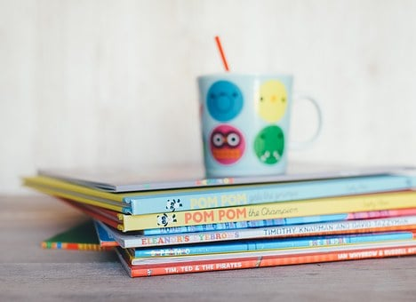 Childrens Books, Books, Reading, Cup, Drink, Education