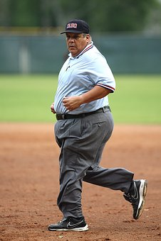 Umpire, Baseball, Running, Concentration, Sport, Game