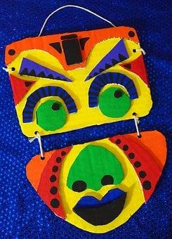 Middle School, Crafts, Masks, Africa, School, Education