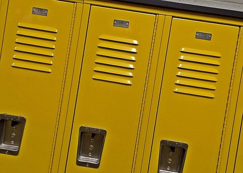 Lockers, School, Education, Student