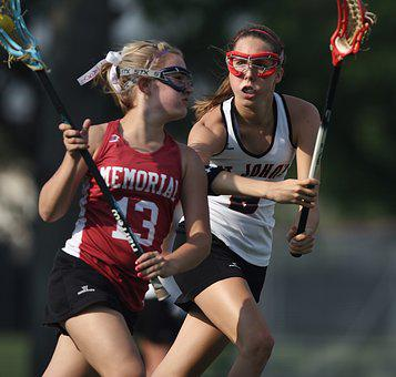 Lacrosse, Female, Competition, Girl, Stick, Equipment