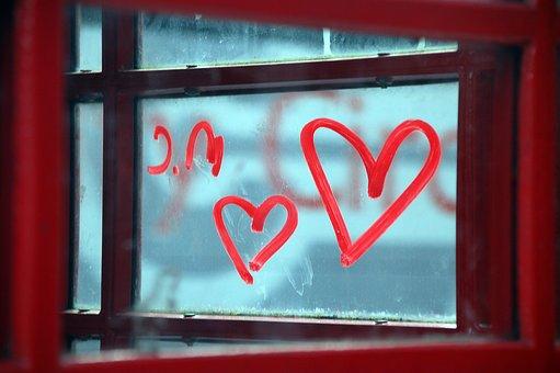 Heart, Zoom, Color, Romance, Romantic, Red, Close, Love