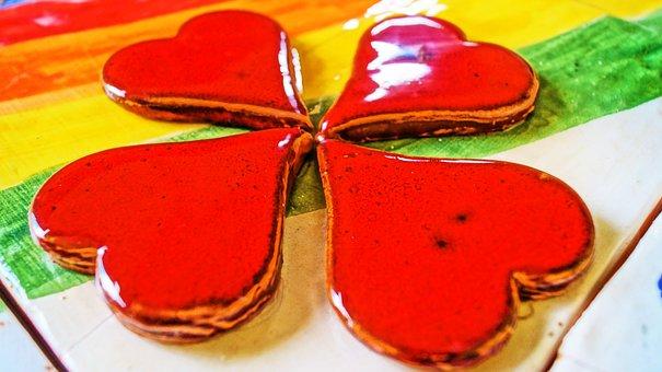 Quadricuore, Hearts, Amulet, Love, Affection
