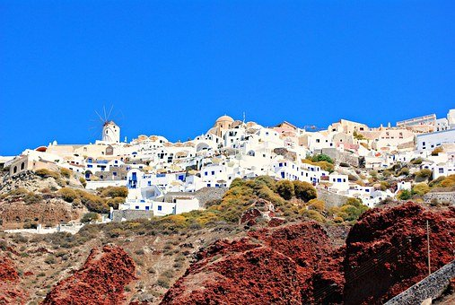 Ammoudi, Beach, Santorini, Travel, Holidays, Vacation