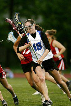 Lacrosse, Female, Stick, Game, Competition, Action