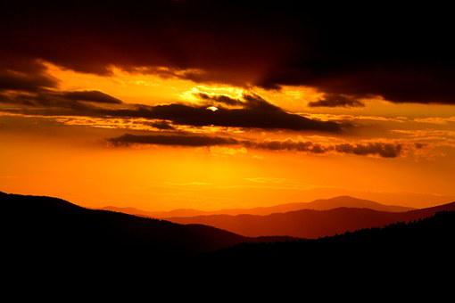 Sunset, Sky, Landscape, Nature, Outdoor, Sun, Color