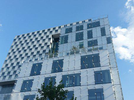Building, Law School, Glass, University, Education