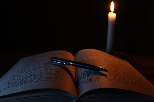 Candle, Book, Old, Light, Library, Old Books
