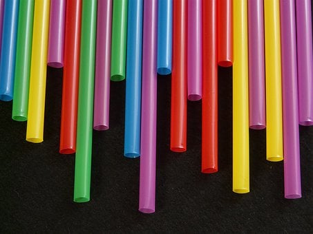 Straws, Tube, Plastic, Colorful, Color, Drink, Thirst