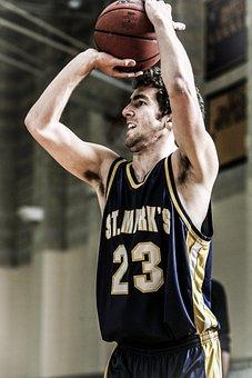 Basketball, Player, Game, Shot, Shooting, Ball, Sport