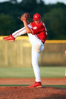 Baseball, Pitcher, Action, Athlete, Sport, Game, Player
