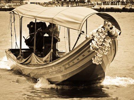 Bangkok, Thailand, River, Ship, Boat, Cruise
