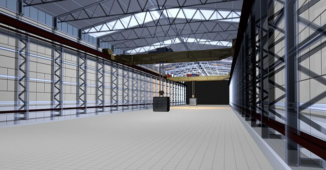 Portal Crane, Animation, 3d Model, Robotic Technology