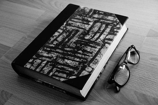 Book, Glasses, Read, Study, School, Sample, Homework
