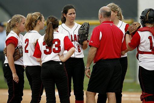 Softball Team, Girls, Players, Softball, Athletes