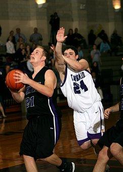 Basketball, Player, Defense, Shot, Block, Sport, Game