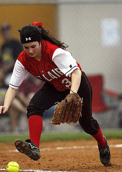 Softball, Girls, Player, Athlete, Ball, Sport, Female