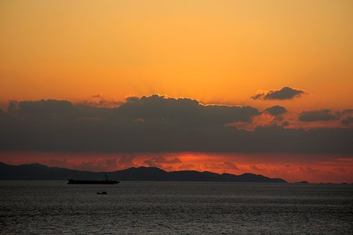 Shengsi Archipelago, Islands, Island, Sunrise