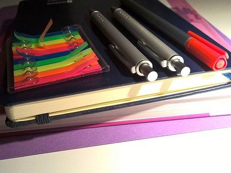 School Supplies, School, Teaching, Back To School