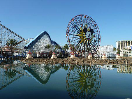 Vacation, Travel, Amusement, Roller, Coaster, Ferris