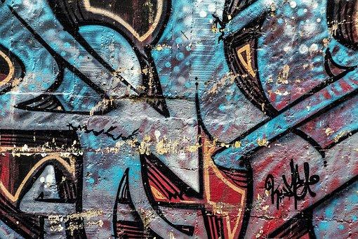 Background, Abstract, Graffiti, Grunge, Street Art