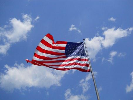 American Flag, Flag, Labor Day, American, Symbol, Usa