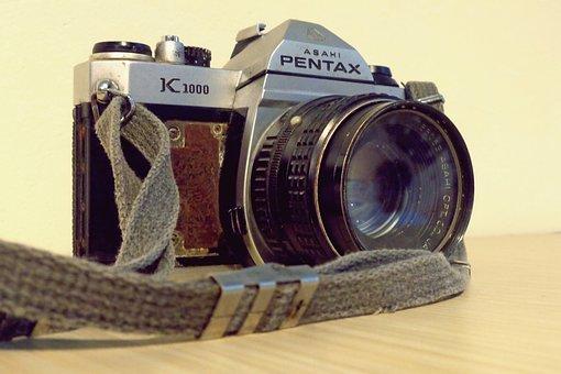 Camera, Analog, Pentax, Photography, Retro