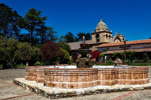 Carmel Mission, California, Catholic, Architecture