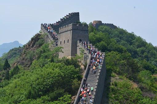Great Wall, China, Great, Chinese, Wall