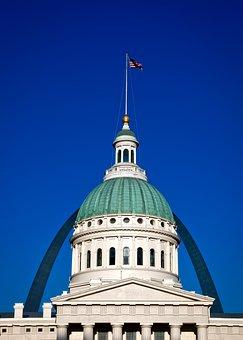 St Louis, Missouri, City, Cities, Urban, Arch, Landmark