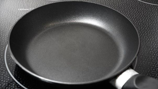 Pan, Kitchenware, Teflon, Utensil, Empty, Cooking