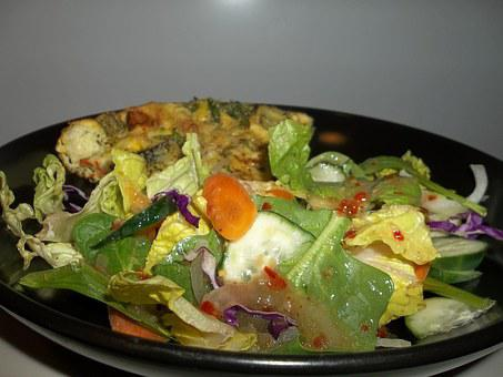 Meal, Quiche, Salad, Cuisine, Food, Vegetable, Lunch