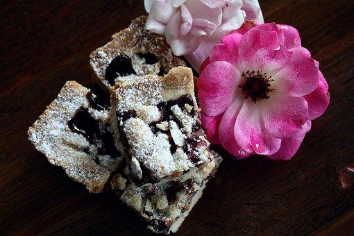 Tart, Sweet, Flower, Dessert, Pastry, Tasty, Delicious