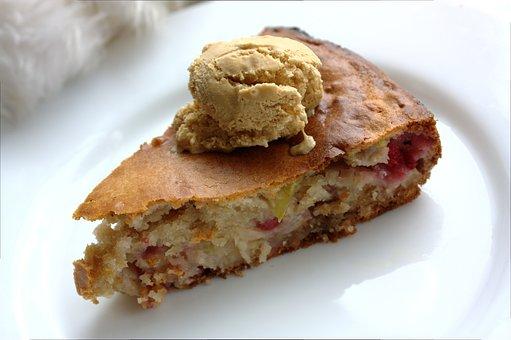 Cake, Apple Pie, Kitchen, Dessert, Ice Cream, Backed
